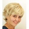 Krátká paruka světlá blond Danute